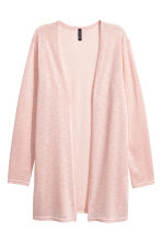 Fine-knit cardigan - Powder pink -  | H&M 2